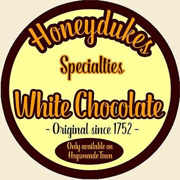 Honeydukes Chocolate - White Version by LadyLarousse