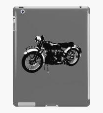 Vincent motorcycle - BlackShadow iPad Case/Skin