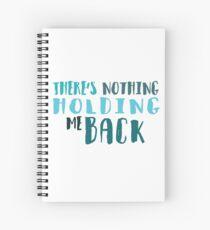Lyrics Spiral Notebook