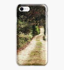 The Way to Winter iPhone Case/Skin