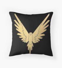 Gold Maverick Logan Paul Throw Pillow