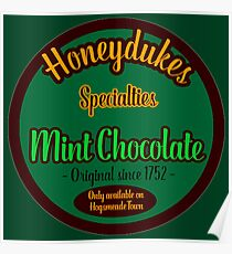 Honeydukes Chocolate - Mint Version Poster