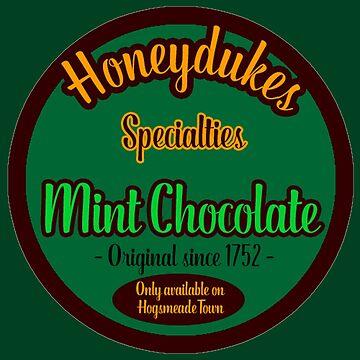 Honeydukes Chocolate - Mint Version by LadyLarousse
