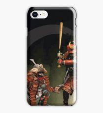 Samurai Baseball Furies iPhone Case/Skin
