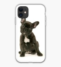 Cute French Bulldog Puppy iPhone Case