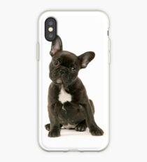 Vinilo o funda para iPhone Lindo cachorro de Bulldog Francés
