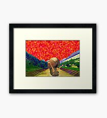 Snail and River (Singapore Scenery) Framed Print