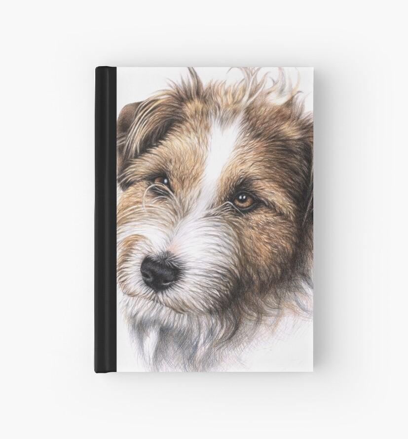 Jack Russell Terrier Portrait by Nicole Zeug