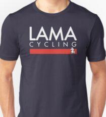 IAM - LAMA Cycling WHITE Unisex T-Shirt