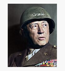 General George S. Patton Photographic Print