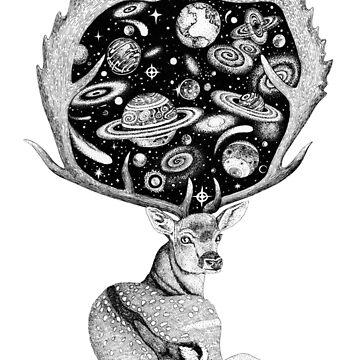 Space Deer by Ruta