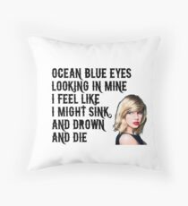 Taylor Swift 'Gorgeous' Throw Pillow