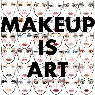 Makeup is art! by linnlag