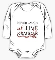 Never Laugh at Live Dragons ~ JRR Tolkien Kids Clothes
