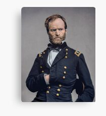 General William T. Sherman - Civil War Canvas Print