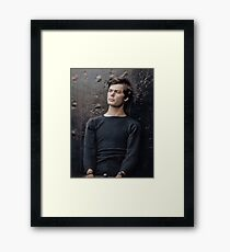 Abraham Lincoln assassination conspirator Lewis Powell in custody, April 14, 1865. Framed Print