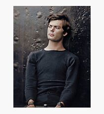 Abraham Lincoln assassination conspirator Lewis Powell in custody, April 14, 1865. Photographic Print