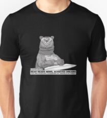 Bear Reads News T-Shirt
