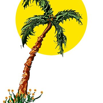 Palm Tree Tee by MyWeb