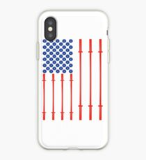 American Muscle Gifts For People Who Workout At The Gym iPhone Case
