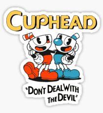 Cuphead Sticker