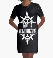 Got It Memorized? Graphic T-Shirt Dress