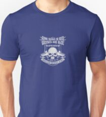 Rink rash is red bruises are blue Unisex T-Shirt