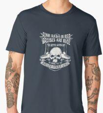 Rink rash is red bruises are blue Men's Premium T-Shirt