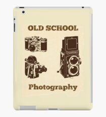 Photographer Funny Design - Old School Photography iPad Case/Skin