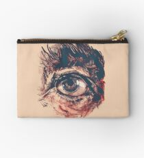 Hairy eyeball is watching you - Rötlich Studio Clutch