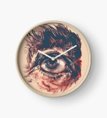 Hairy eyeball is watching you - Rötlich Uhr