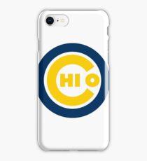 Chi O Cubs Michigan iPhone Case/Skin