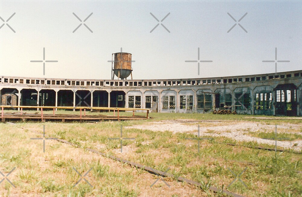 Old Roundhouse by Sheila Simpson