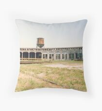 Old Roundhouse Throw Pillow
