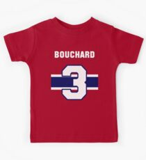 Butch Bouchard #3 - red jersey Kids Tee
