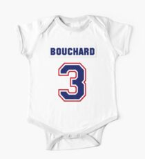 Butch Bouchard #3 - white jersey One Piece - Short Sleeve