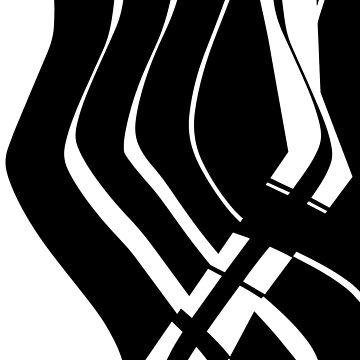 Organic No.6 Black & White by MenegaSabidussi