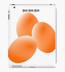 eggs eggs eggs. iPad Case/Skin
