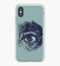 Hairy eyeball is watching you - Dunkelgrün iPhone-Hülle & Cover