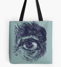 Hairy eyeball is watching you - Dunkelgrün Tasche