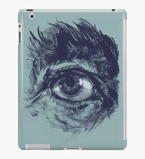 Hairy eyeball is watching you - Dunkelgrün iPad-Hülle & Skin