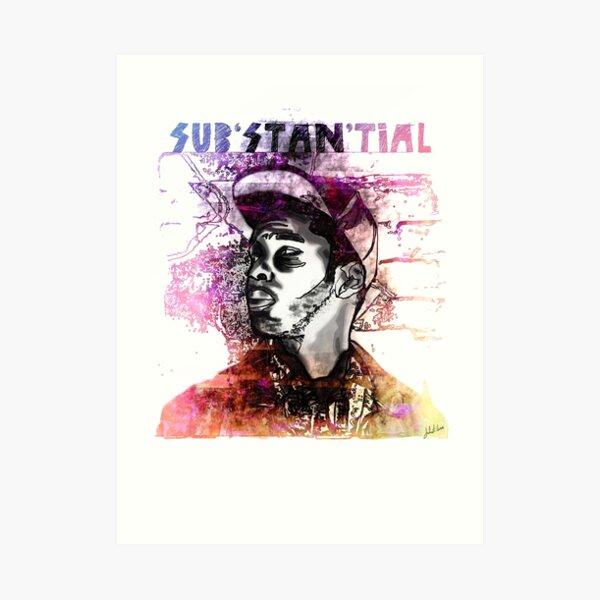 Substantial MC Art Print