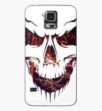 Funda/vinilo para Samsung Galaxy Cráneo de rostro feroz