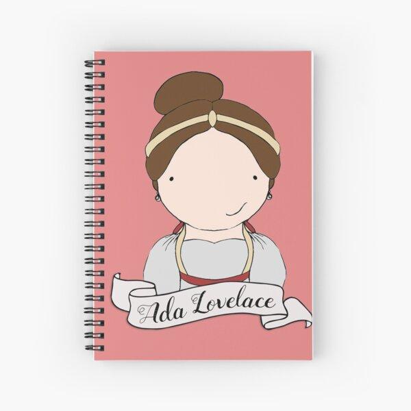 Ada Lovelace Spiral Notebook
