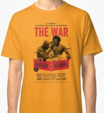 Hagler vs Hearns Boxing T-shirt Classic T-Shirt
