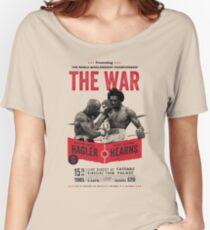 Hagler vs Hearns Boxing T-shirt Women's Relaxed Fit T-Shirt