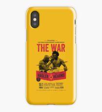 Hagler vs Hearns Boxing T-shirt iPhone Case/Skin