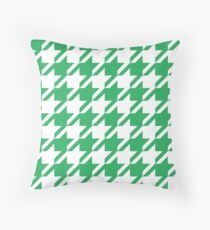 Nephritis Houndstooth Pattern Throw Pillow