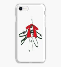 Mistletoe with Red Bow iPhone Case/Skin