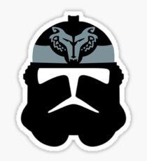 Clone Troop Wolfpack Helm Sticker